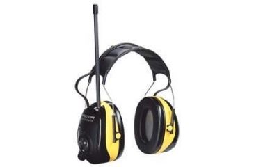 Peltor Worktunes AM/FM Headset Yellow Hearing Protector HRX79A-GU