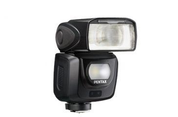 Pentax AF360FGZ II Auto Zoom Flash with case, Black 30438
