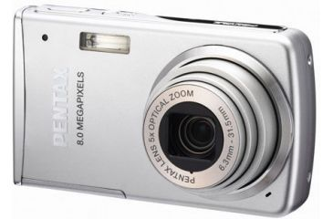 Pentax Optio M50 8 Mega Pixel Digital Camera 5x Zoom 2.5 Inch LCD