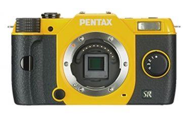 Pentax Q7 Compact Mirrorless Camera, Yellow 11543