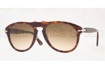 Persol PO0649 Bifocal Prescription Sunglasses PO0649-24-51-5420 - Lens Diameter: 54 mm, Frame Color: Havana