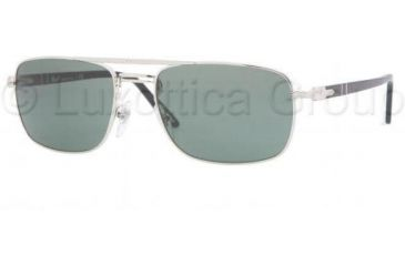 Persol PO2387S Bifocal Prescription Sunglasses PO2387S-518-31-5519 - Lens Diameter: 55 mm, Frame Color: Silver