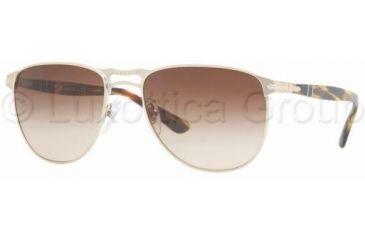 Persol PO2390S Progressive Prescription Sunglasses PO2390S-976-51-5518 - Lens Diameter: 55 mm, Frame Color: Light Gold