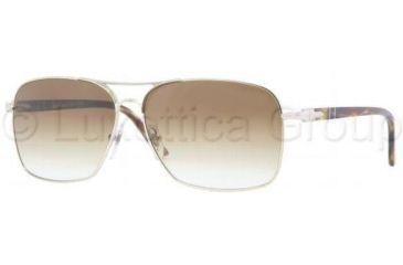 Persol PO2394S Single Vision Prescription Sunglasses PO2394S-976-51-6013 - Lens Diameter: 60 mm, Frame Color: Light Gold