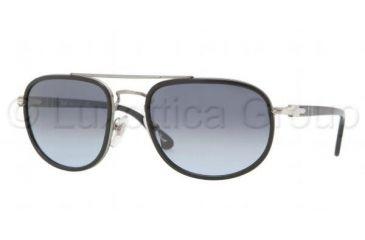 Persol PO2409S Sunglasses 505/86-5620 - Matte Gunmetal Frame, Crystal Gray Gradient Lenses