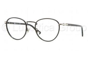 Persol PO2410VJ Progressive Prescription Eyeglasses 986-4720 - Shiny Black Frame