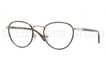 Persol PO2410VJ Progressive Prescription Eyeglasses 992-4720 - Matte Dark Brown Frame