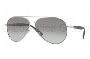 Persol PO2424S Bifocal Prescription Sunglasses PO2424S-101171-5913 - Lens Diameter 59 mm, Frame Color Gunmetal