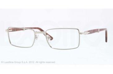 Persol PO2425V Single Vision Prescription Eyeglasses 997-51 - Gunmetal Frame, Demo Lens Lenses