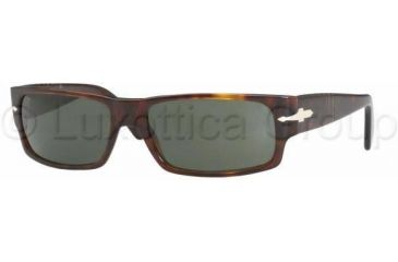 Persol PO2720S Single Vision Sunglasses PO2720S-24-31-6016 - Lens Diameter 60 mm, Frame Color Havana