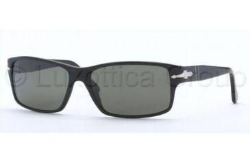 Persol PO2761S Progressive Prescription Sunglasses PO2761S-95-58-6016 - Lens Diameter: 60 mm, Frame Color: Black