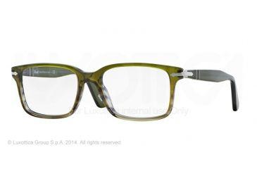 fa6e3ff76b4 Persol PO2880VM Eyeglass Frames 1011-54 - Forest Gradient Green Frame