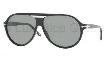 8df1e955a3f6a Persol PO2929S Sunglasses 95 58-6211 - Black Crystal Green Polarized
