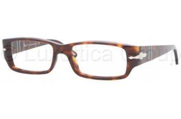 Persol PO2933V Single Vision Prescription Eyewear 24-5217 - Havana