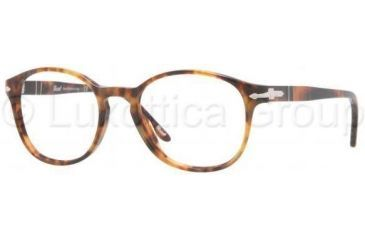 Persol PO2945V Progressive Prescription Eyeglasses 108-4918 - Light Havana