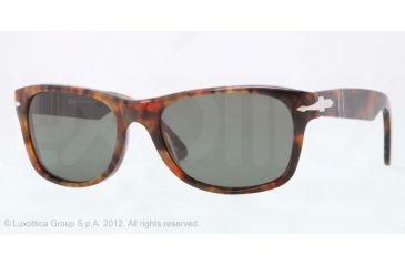 Persol PO2953S Prescription Sunglasses PO2953S-108-58-53 - Lens Diameter 53 mm, Lens Diameter 53 mm, Frame Color Caffe'