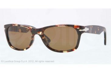 Persol PO2953S Prescription Sunglasses PO2953S-985-57-53 - Lens Diameter 53 mm, Lens Diameter 53 mm, Frame Color Tabacco Virginia