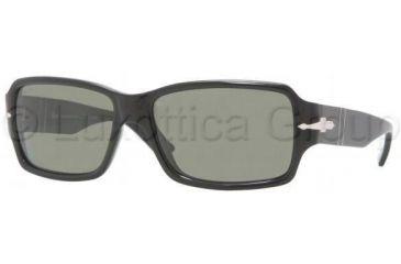 Persol PO2957S Progressive Prescription Sunglasses PO2957S-95-31-5916 - Lens Diameter: 59 mm, Frame Color: Black