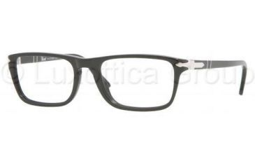 Persol PO2972V Single Vision Prescription Eyewear 95-5117 - Black