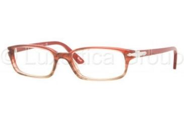 Persol PO2973V Single Vision Prescription Eyewear 925-5016 - Red Gradient Brown