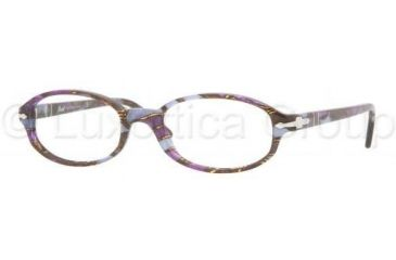 Persol PO2980V Single Vision Prescription Eyewear 916-5318 - Mosaic Violet-blue