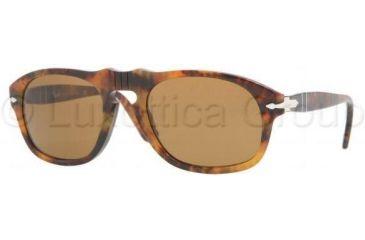 Persol PO2995S Progressive Prescription Sunglasses PO2995S-108-33-5220 - Lens Diameter: 52 mm, Frame Color: Light Havana