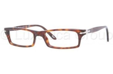 Persol PO3010V Single Vision Prescription Eyeglasses 24-5317 - Havana Frame