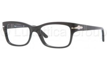 Persol PO3011V Progressive Prescription Eyeglasses 95-5217 - Black Frame