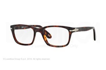 Persol PO3012V Prescription Eyeglasses 24-52 - Havana Frame