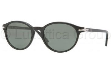 Persol PO3015S Bifocal Prescription Sunglasses PO3015S-95-31-5118 - Lens Diameter 51 mm, Frame Color Black