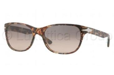 Persol PO3020S Bifocal Prescription Sunglasses PO3020S-928-87-5418 - Lens Diameter 54 mm, Frame Color Brown Violet