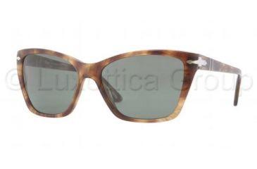 Persol PO3023S Prescription Sunglasses PO3023S-979-31-5616 - Lens Diameter 56 mm, Frame Color Spotted Green