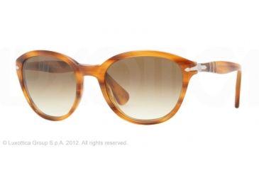 Persol PO3025S Sunglasses 960/51-50 - Brown Striped