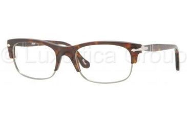 Persol PO3033V Progressive Prescription Eyeglasses 24-5018 - Havana Frame