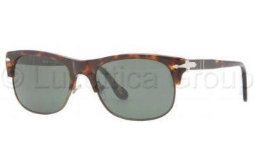 Persol PO3034S Progressive Prescription Sunglasses PO3034S-24-31-5318 - Lens Diameter 53 mm, Frame Color Havana