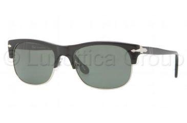Persol PO3034S Progressive Prescription Sunglasses PO3034S-95-31-5618 - Lens Diameter 56 mm, Frame Color Black