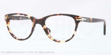 Persol PO3036V Bifocal Prescription Eyeglasses 985-48 - Tabacco Virginia Frame