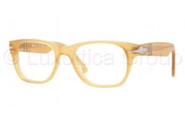 Persol PO3039V Single Vision Prescription Eyeglasses 204-5019 - Yellow Frame