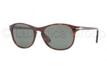 Persol PO3042S Bifocal Prescription Sunglasses PO3042S-24-31-5117 - Lens Diameter 51 mm, Frame Color Havana