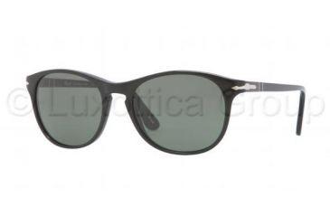 Persol PO3042S Bifocal Prescription Sunglasses PO3042S-95-31-5117 - Lens Diameter 51 mm, Frame Color Black