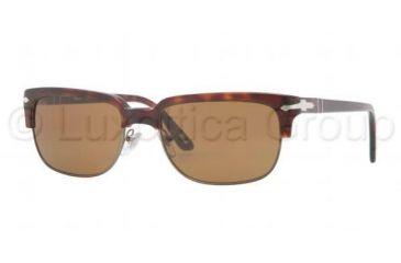 0fe9d46b841 Persol PO3043S Sunglasses 24 33-5418 - Havana Frame