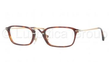 Persol PO3044V Progressive Prescription Eyeglasses 24-5021 - Havana Frame