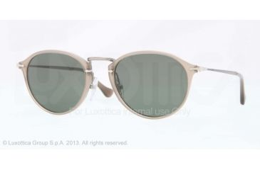 Persol PO3046S Single Vision Prescription Sunglasses PO3046S-952-31-49 - Lens Diameter 49 mm, Frame Color Beige