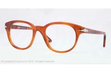 Persol PO3052V Bifocal Prescription Eyeglasses 96-50 - Terra Di Siena Frame, Demo Lens Lenses