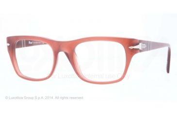 Persol PO3070V Bifocal Prescription Eyeglasses 1002-52 - Dark Red Opalin Frame