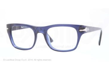 Persol PO3070V Bifocal Prescription Eyeglasses 181-52 - Blue Frame