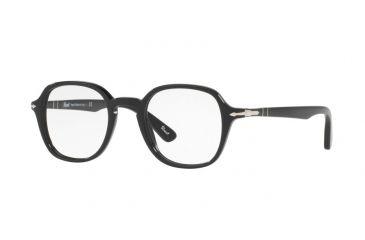 a0d90b709f Persol PO3142V Eyeglass Frames 95-47 - Black Frame