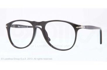 Persol PO9649V Bifocal Prescription Eyeglasses 95-50 - Black Frame