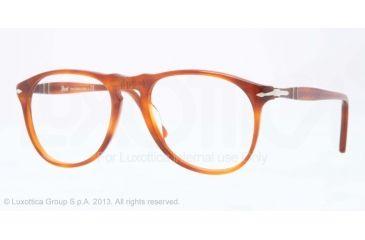 Persol PO9649V Bifocal Prescription Eyeglasses 96-50 - Terra Di Siena Frame