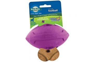 Petsafe Busy Buddy Football Dog Toy Md BB-FTBL-PUR-MD